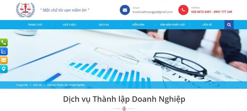 Công ty TNHH Đại lý thuế Kế toán Hoàng Gia