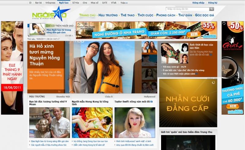 Đây là trang thông tin giải trí dành cho bạn trẻ Việt Nam