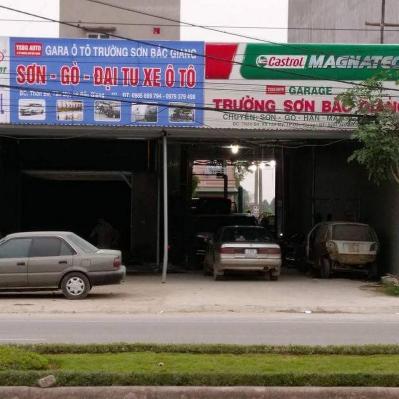 Garage ô tô Trường Sơn Bắc Giang