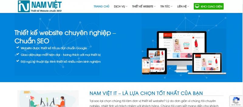 Công ty Thiết kế Website Nam Việt IT