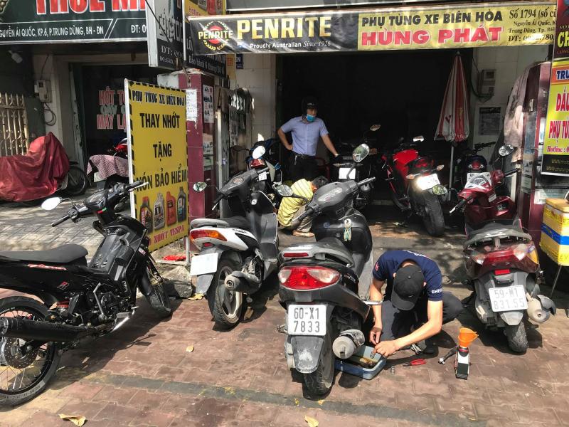 Tiệm sửa chữa xe máy Hùng Phát