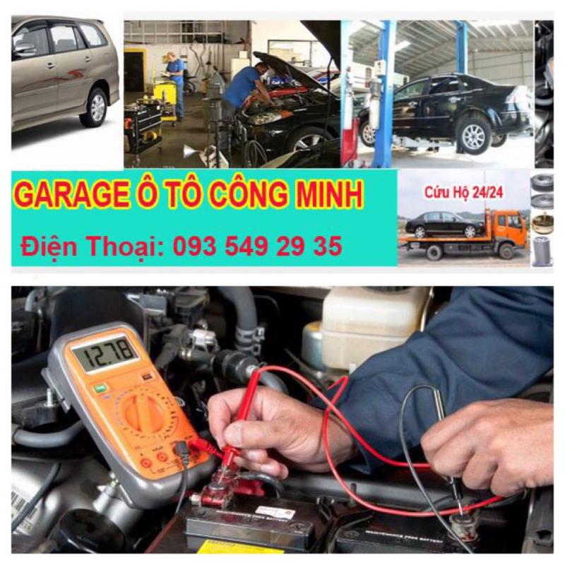 Garage Ô Tô Công Minh