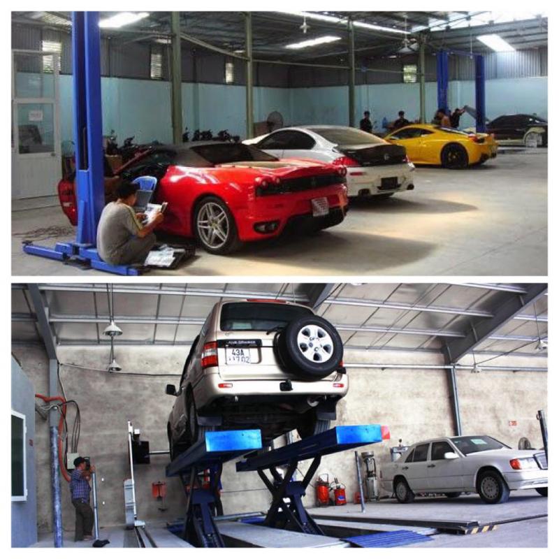 Garage Ô Tô Đại Sơn