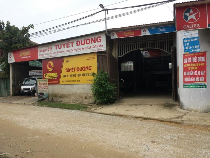 Garage ô tô Tuyết Đương