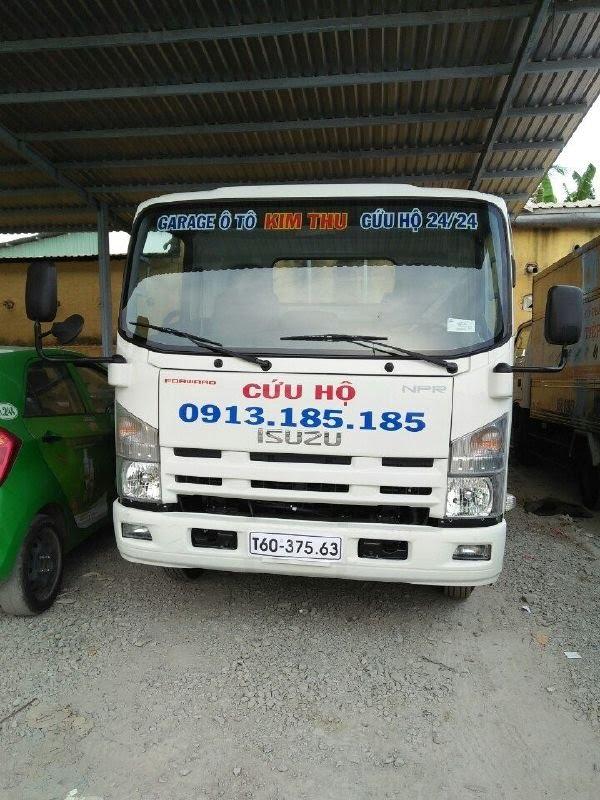 Xe cứu hộ của Kim Thu