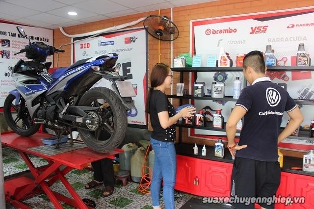 Tiệm Sửa xe máy Biên Hòa Đồng Nai