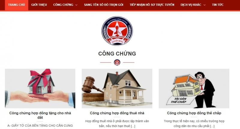 Văn phòng công chứng Nguyễn Hùng
