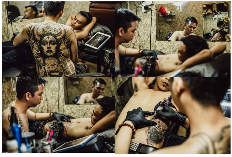 Nhũng giây phút làm việc tại Dream Tattoo