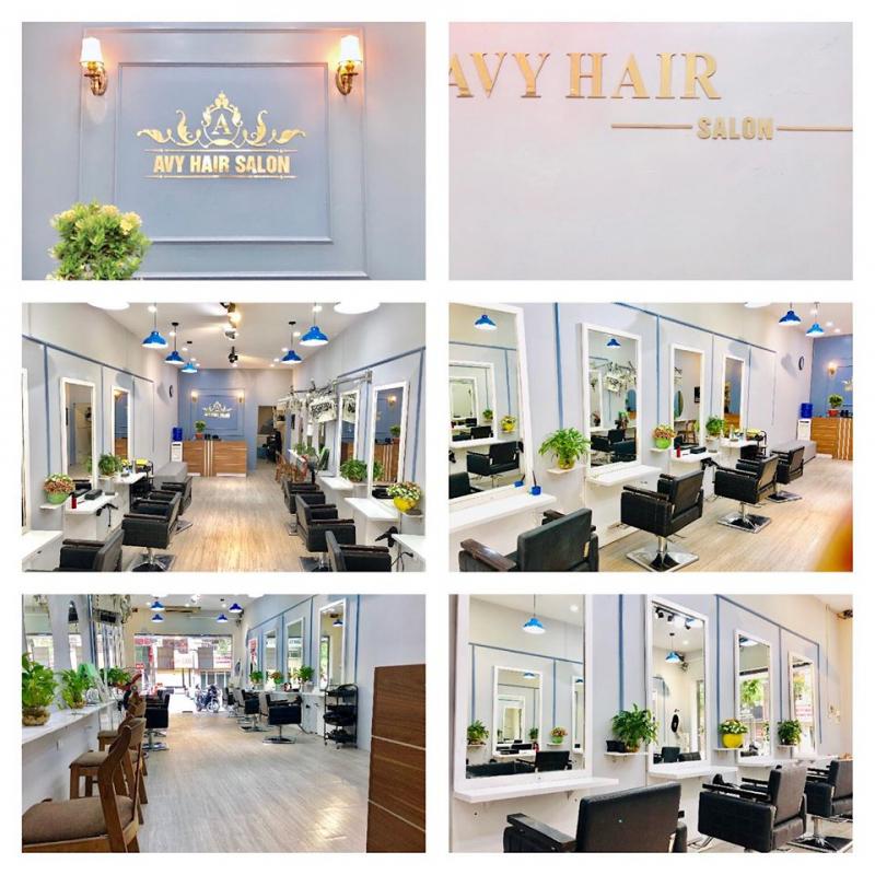 Không gian sang chảnh và hiện đại tại Hair Salon AVY