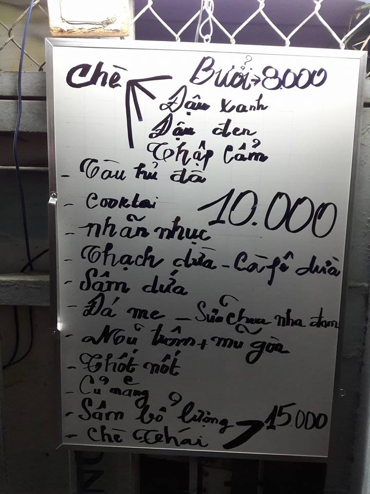 Chè Bưởi Biên Hòa