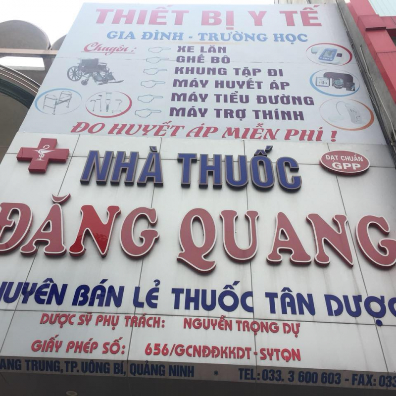 Nhà Thuốc Đăng Quang