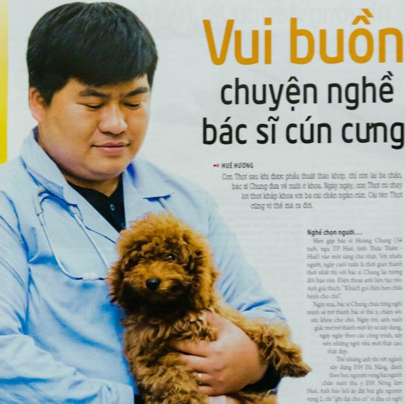 Bác sĩ thú y Chung