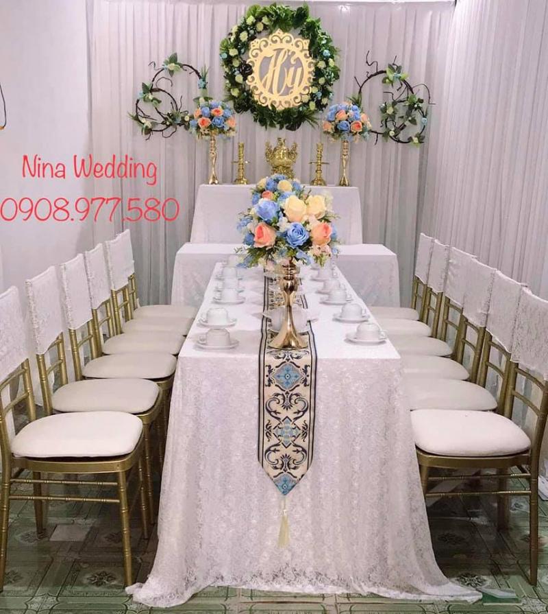 Nina Wedding - Trang trí tiệc cưới