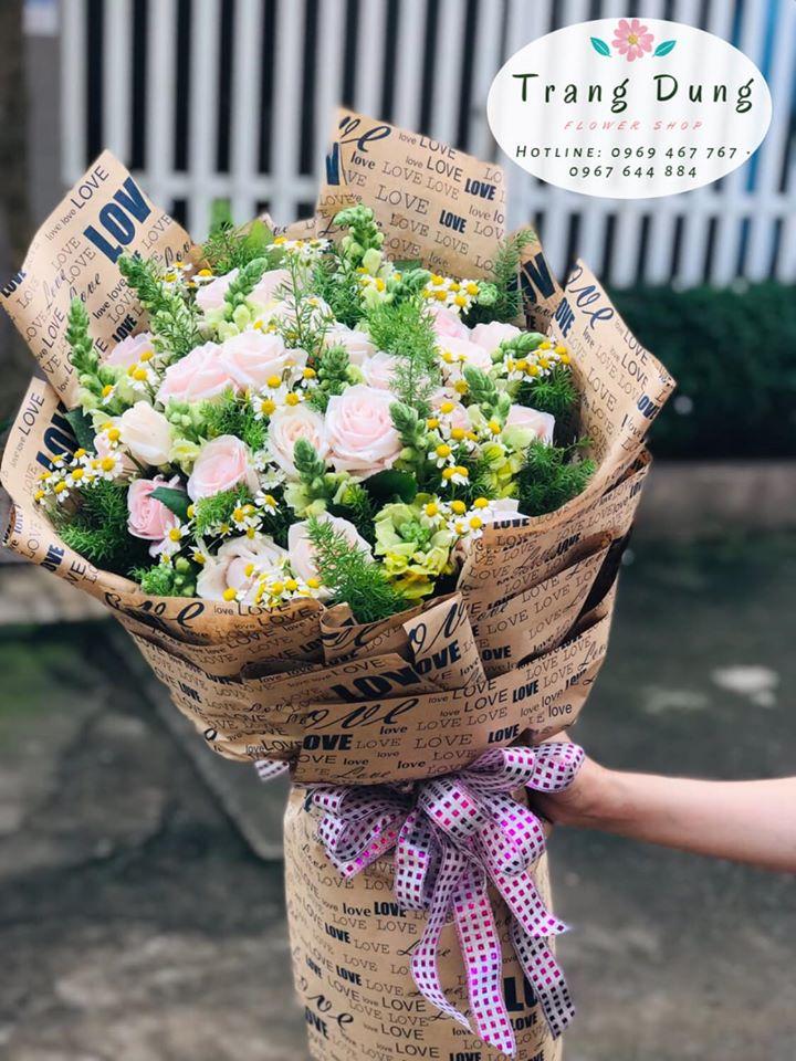 Bó hoa xuất sắc dành tặng cho người thân yêu của bạn