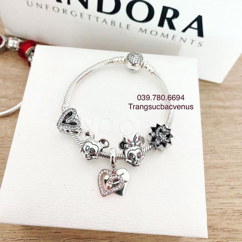Vòng Pandora Charm - Bạc Thái 925