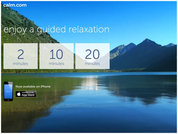 Top 12 trang web giúp bạn thư giãn khi mệt mỏi