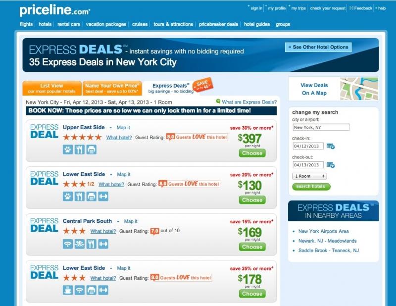 Trang web cung cấp những thông tin giảm giá về khách sạn, vé máy bay hay các tour du lịch phù hợp với yêu cầu của khách hàng