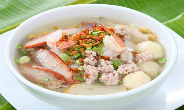 Hủ tiếu là món ăn sáng rất được ưa thích ở miền Nam Việt Nam.