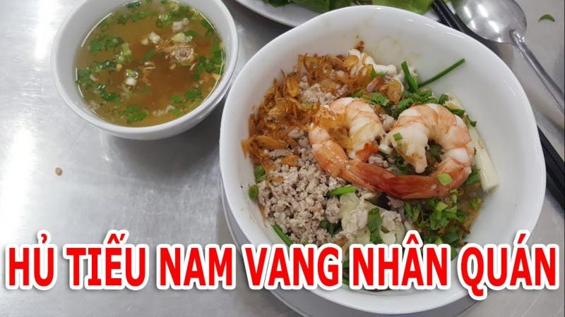 Món hủ tiếu Nam Vang Nhân Quán