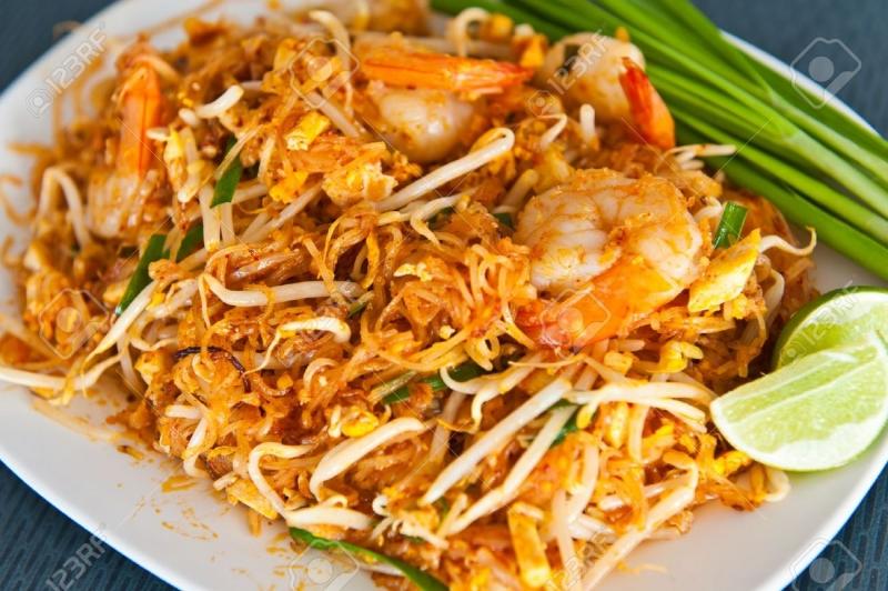 Hủ tiếu xào (Pad Thai)