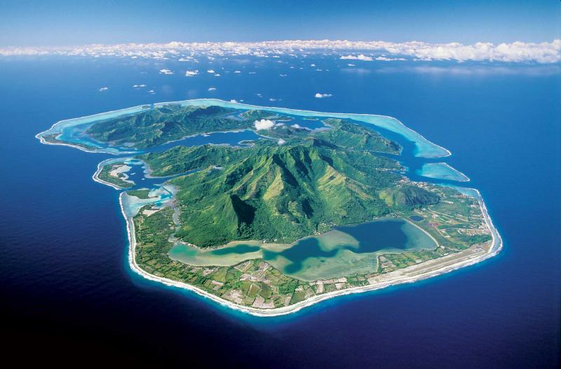 Huahine, Polynesia