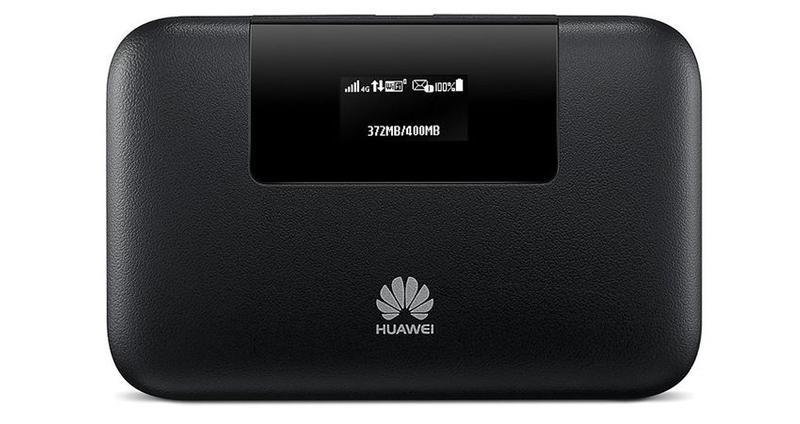 Huawei 4G Pocket cũng có màn hình LCD tích hợp để  hiển thị các chỉ số hữu ích