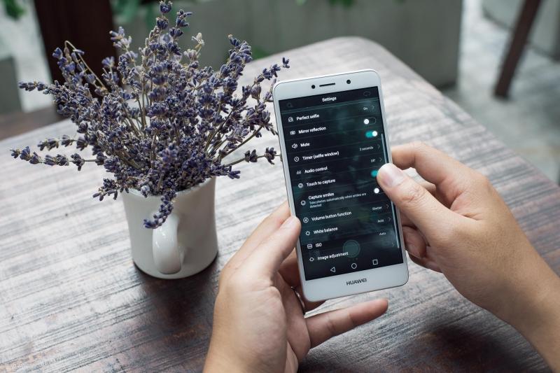 Mặt trước của Huawei Gr5 2017