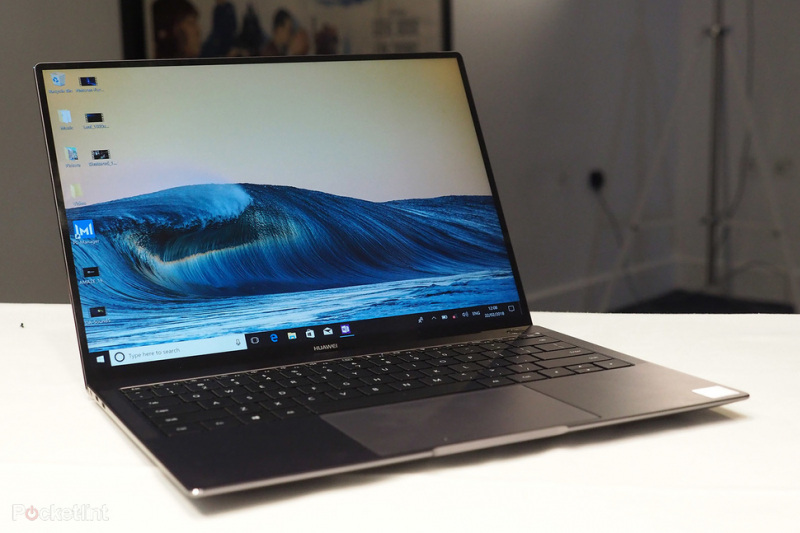 Laptop tốt nhất 2018 - Huawei MateBook X Pro
