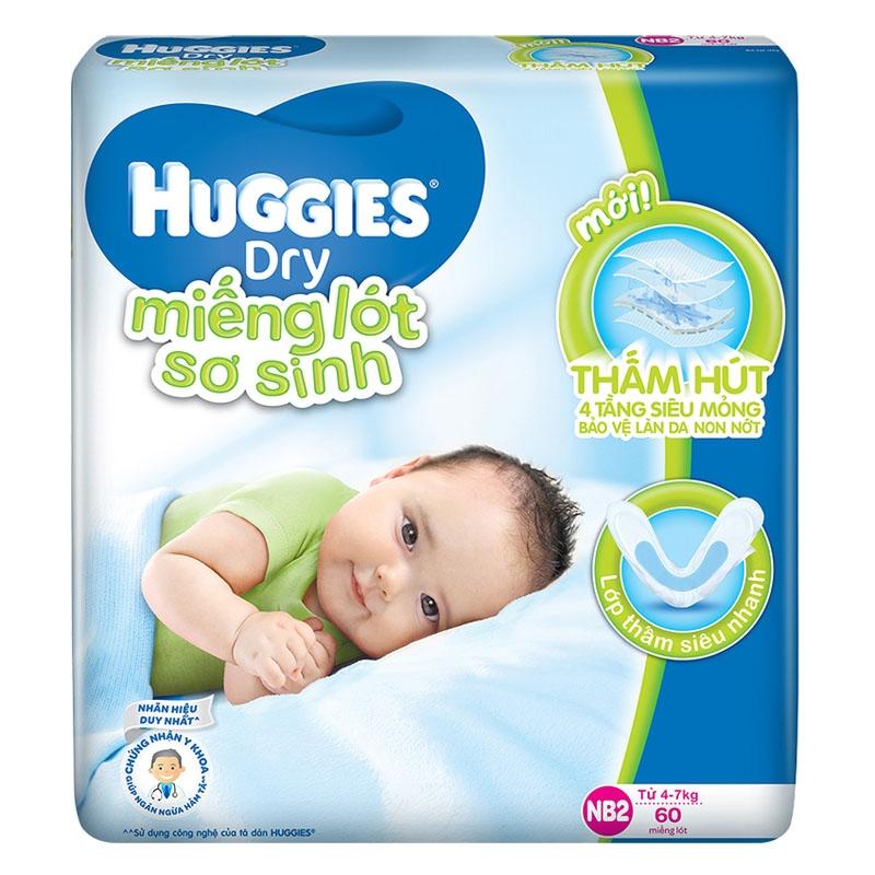 Huggies là thương hiệu tã nổi tiếng của Mỹ