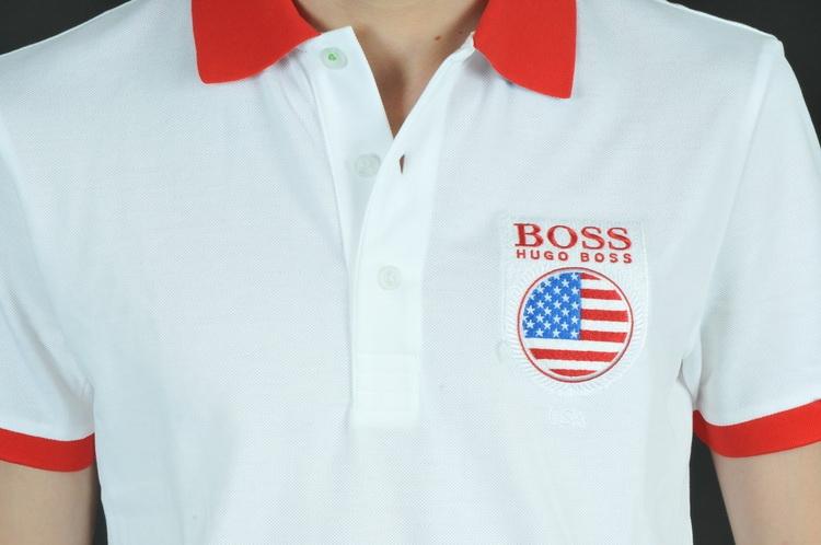 Áo thun nam có cổ Hugo Boss