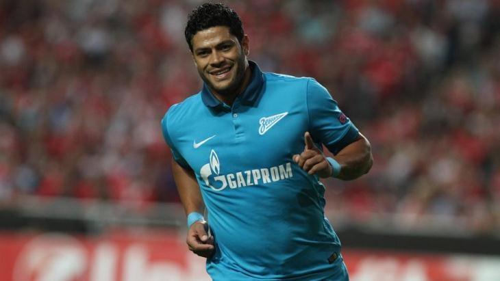 Hulk thời còn thi đấu cho Zenit