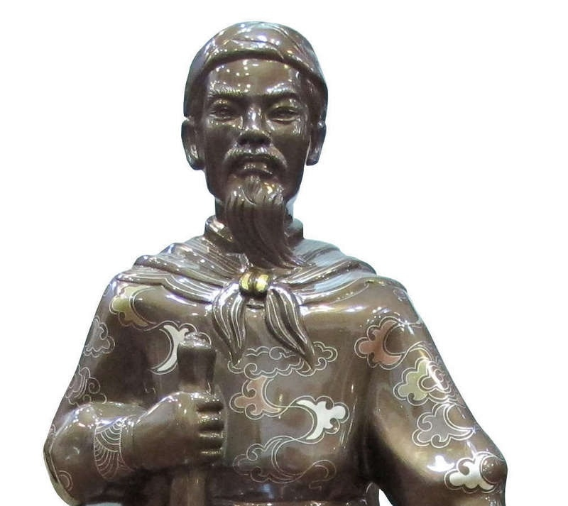 Chân dung Trần Quốc Tuấn - Hưng Đạo đại vương.