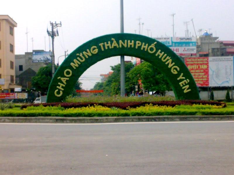 Thành phố Hưng Yên đang trong thời kì đổi mới