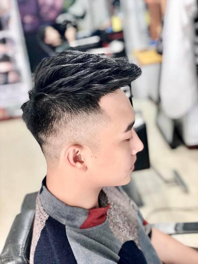 Mẫu tóc đầy nam tính