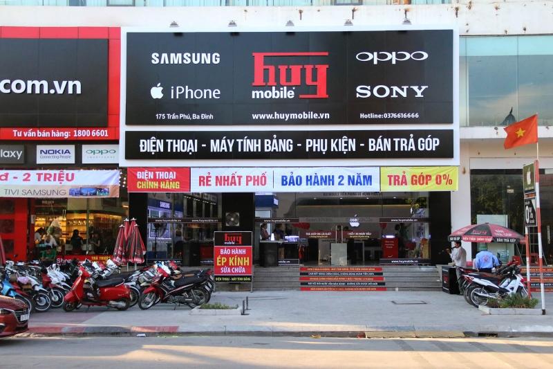 Cửa hàng Huy mobile tại Thanh Hóa