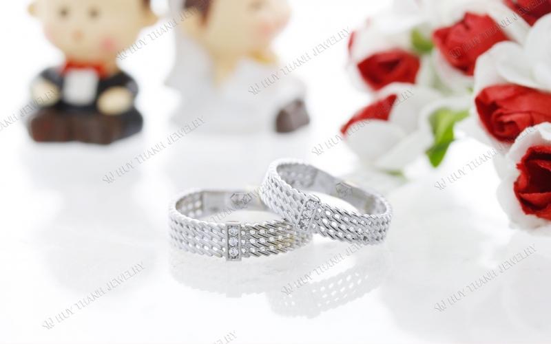 Nhẫn cưới của Huy Thanh Jewelry
