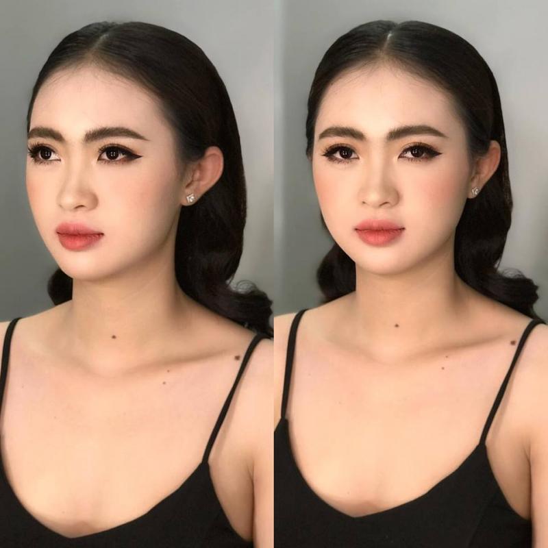 Huỳnh Hương make up