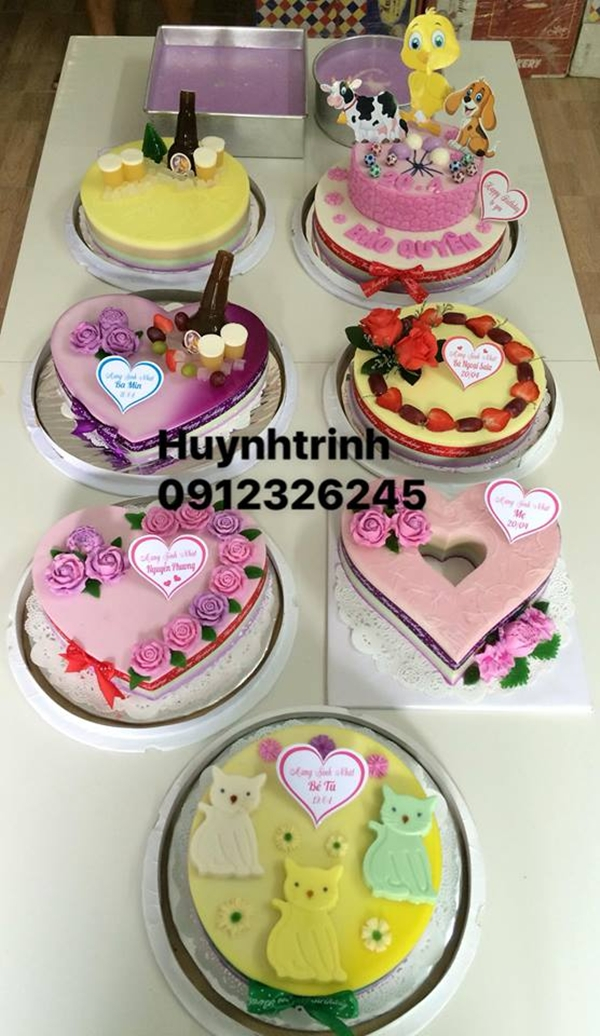 Huỳnh Trinh – Địa chỉ bán bánh sinh nhật ngon, chất lượng Kontum