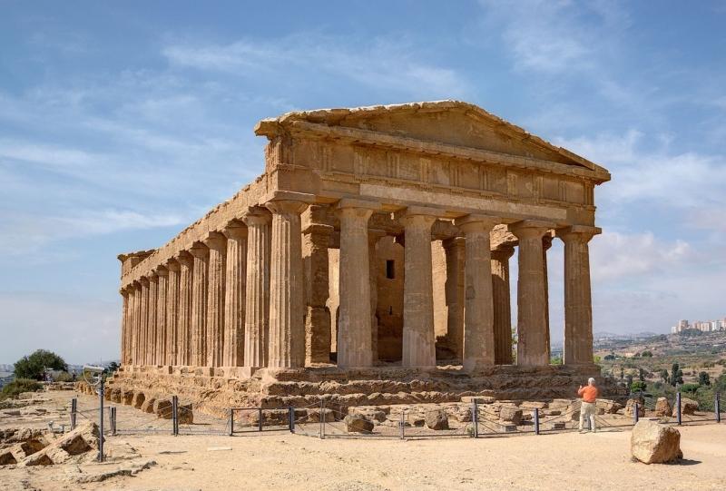 Di tích lịch sử nổi tiếng còn lại từ Hy Lạp cổ đại
