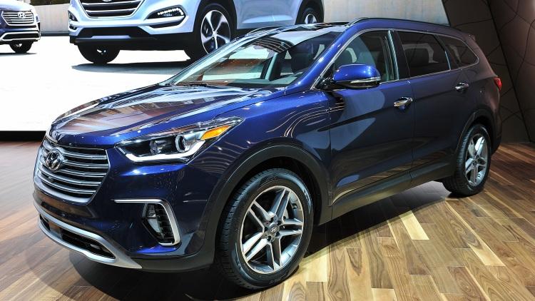 SantaFe - mẫu SUV ăn khách của Hyundai trên toàn thế giới