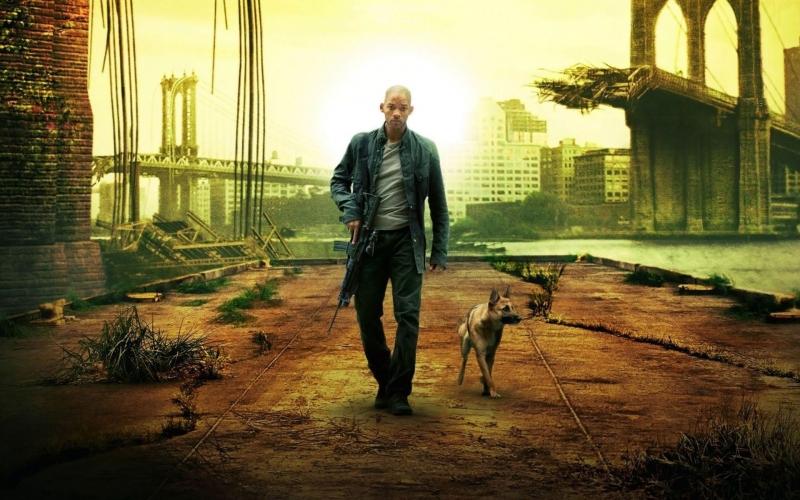 Thế giới hoang tàn trong phim I Am Legend