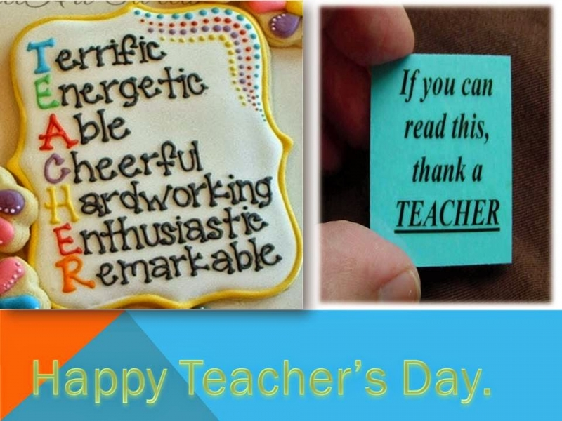 I will always be thankful to you for your effort and enthusiasm in educating me. Happy Vietnamese Teachers' Day.