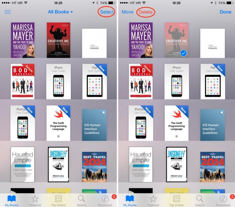 Nhiều đầu sách trên iBooks