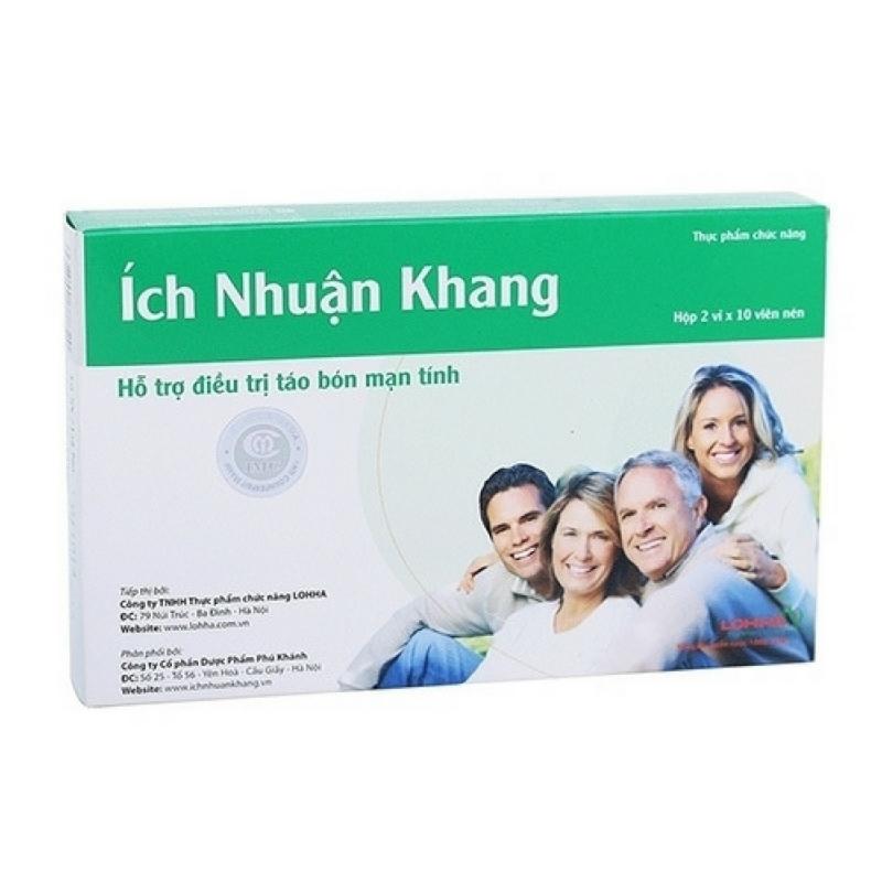 Ích Nhuận Khang - Hỗ trợ điều trị táo bón mãn tính