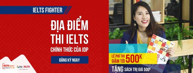 IELTS Fighter là đối tác chính thức của IDP