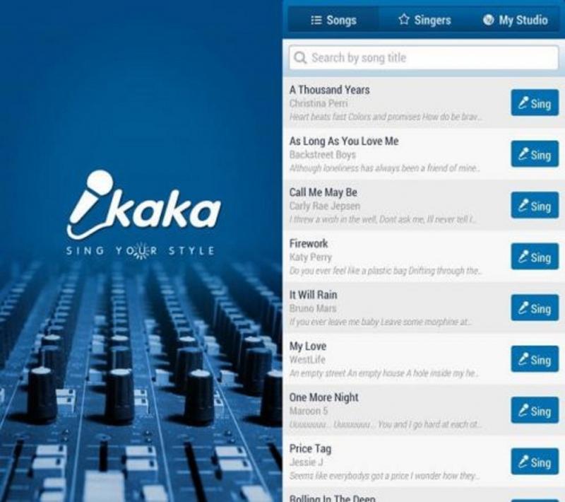 Ứng dụng hát Karaoke