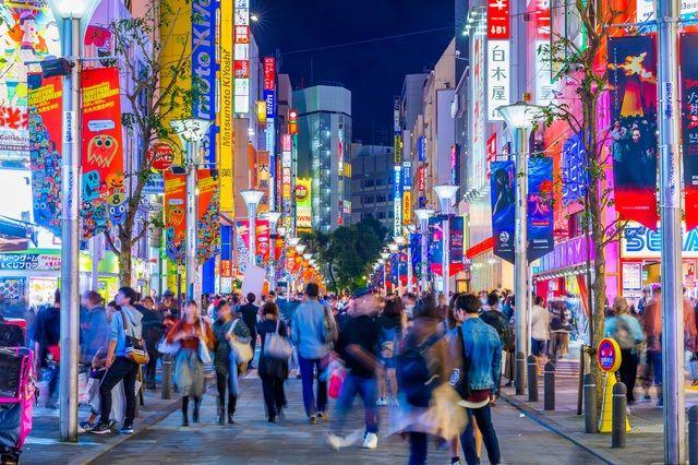 Ikebukuro là một trong những khu phố sầm uất nhất của Tokyo