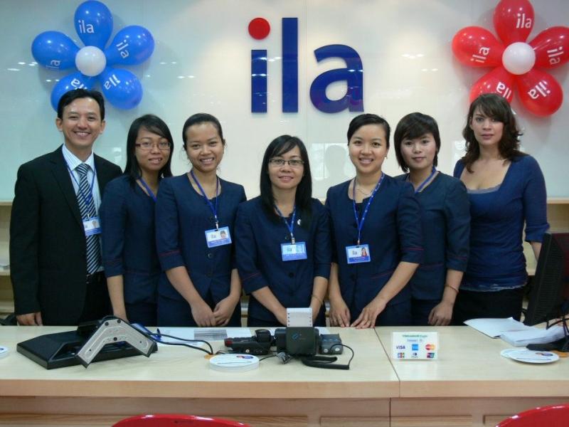 Đội ngũ quản lý của trung tâm anh ngữ ILa VietNam