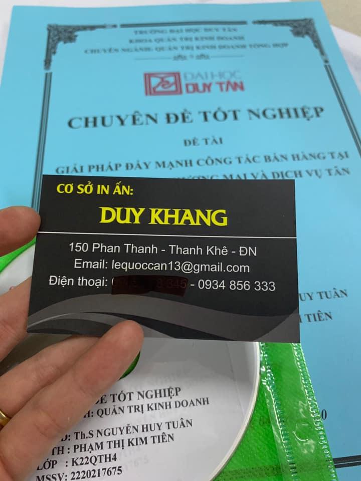 In ấn photocopy DUY KHANG