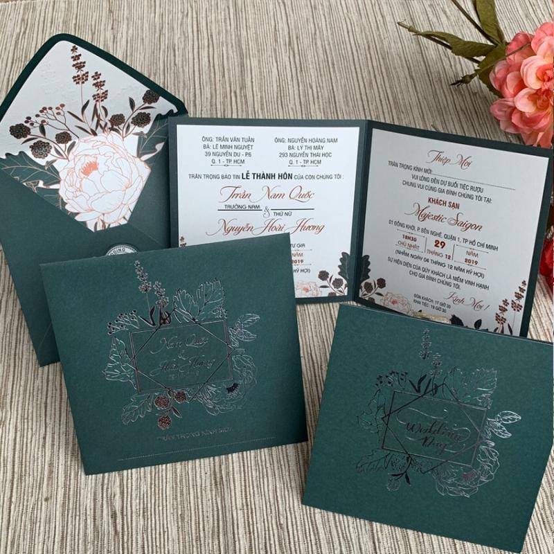 Top 4 địa chỉ in thiệp cưới đẹp nhất tại quận 1, TP. HCM